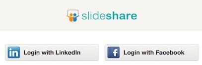 slideshare-login